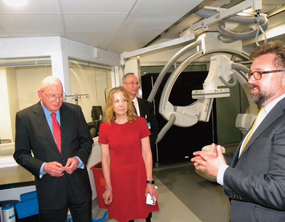 Mount Sinai Queens Celebrates New Cerebrovascular Stroke