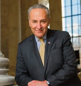 """""""The purpose of my call to Mr. Hayes was simply to remind him that JetBlue's roots and its future are here in New York,"""" said Schumer."""